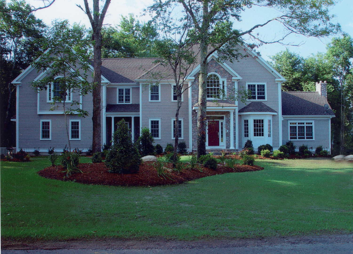 3800 square foot home with flared stairs coffered ceilings 1 - Square Foot Home
