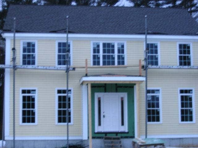 Colonial custom home 13 for Custom colonial homes