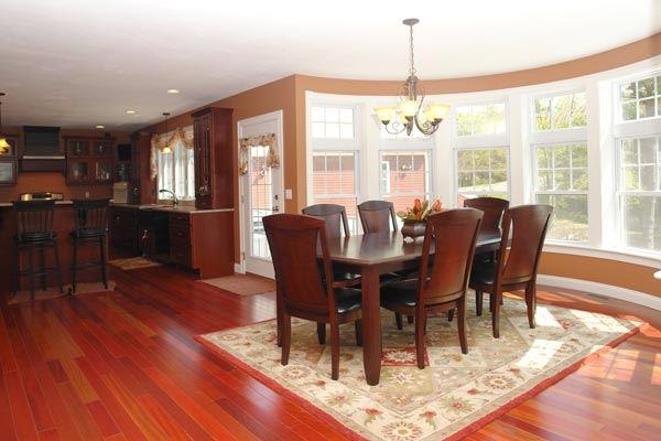 Carolina Room Additions : Custom addition remodel with round room