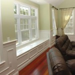 carolina living room with window seat