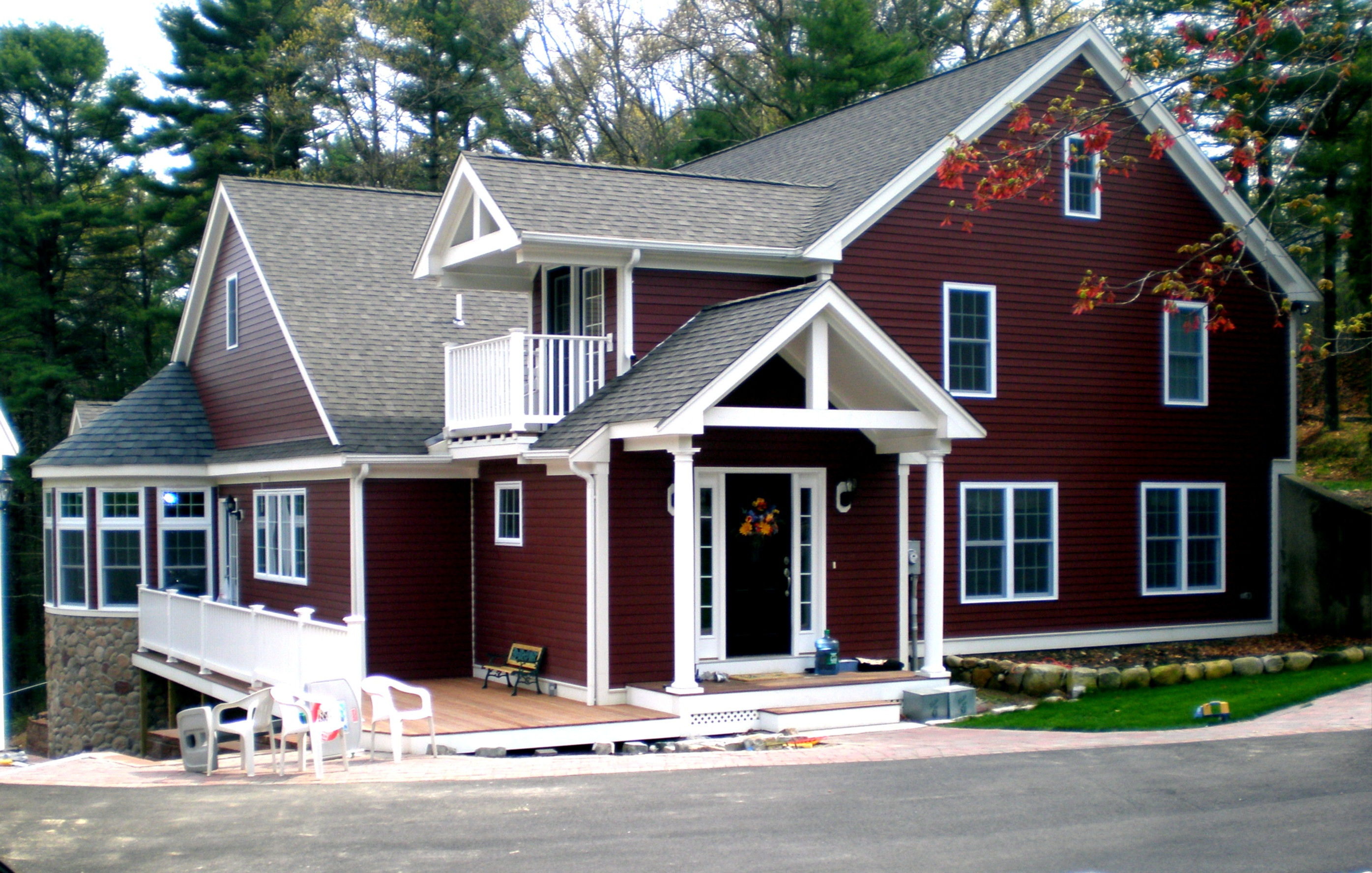 Custom addition home remodel carver ma johnson for Custom home addition