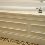 custom woodwork under jaccuzzi
