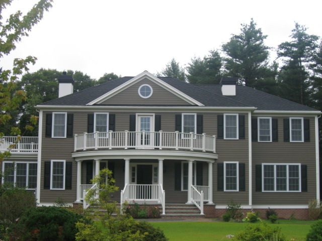 custom georgian colonial home 1