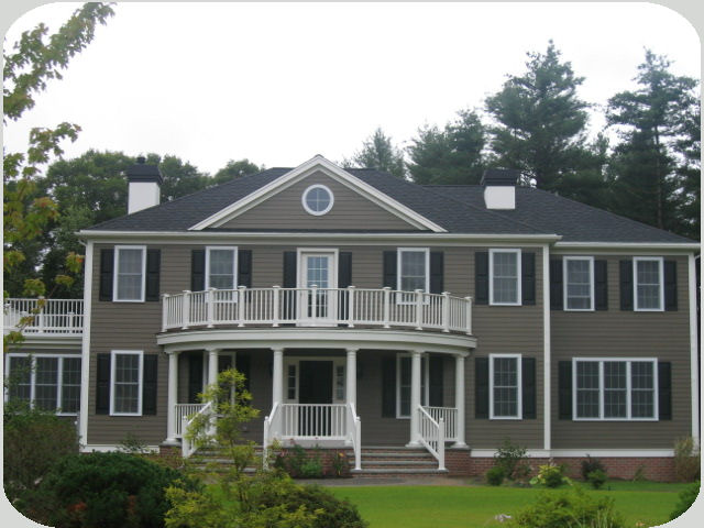 Custom georgian colonial home for Colonial home builders