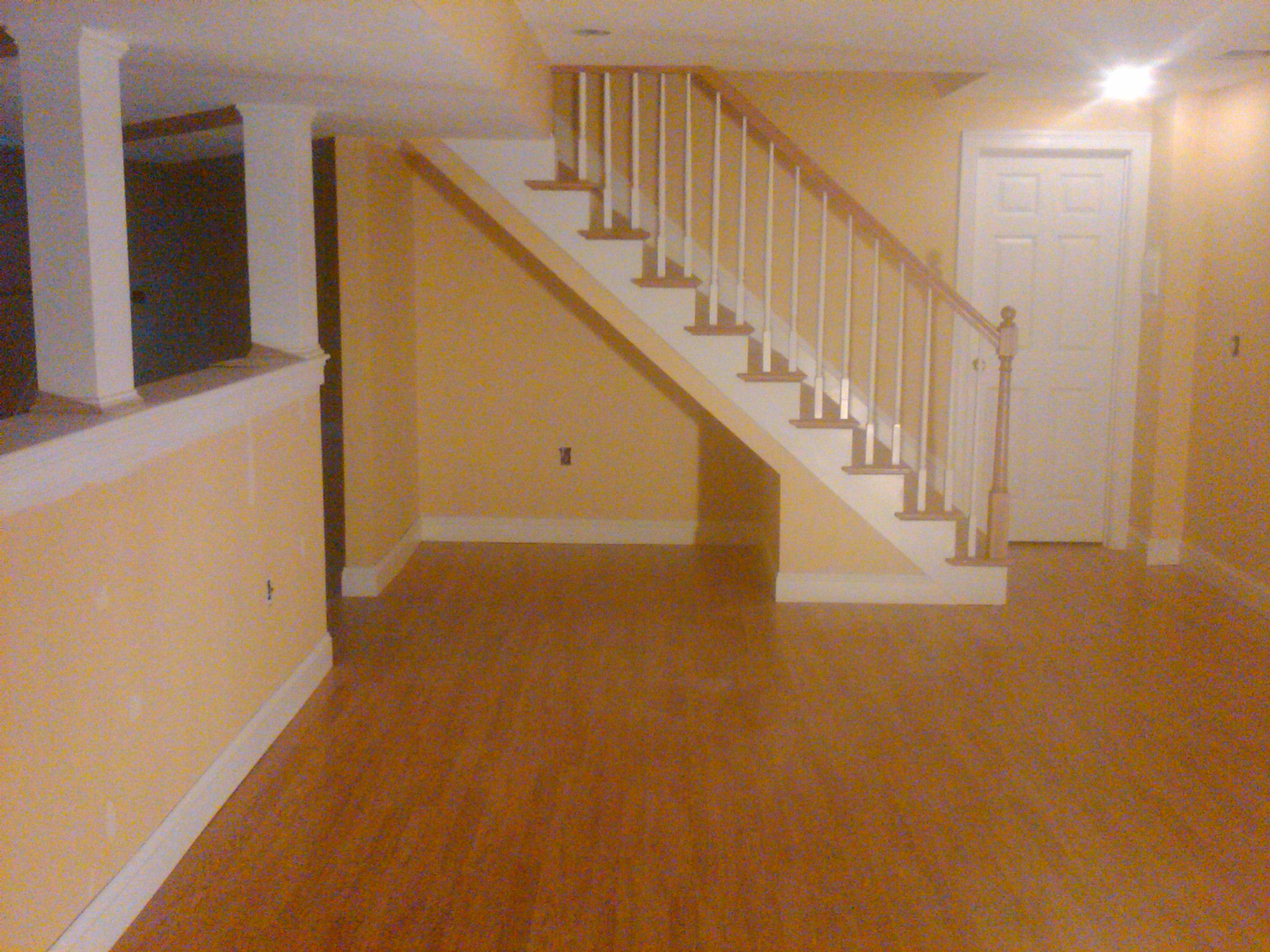 Pembroke ma finished basement by johnson construction company for Images of finished basements