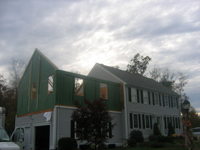 Home Addition Above Two Car Garage 8